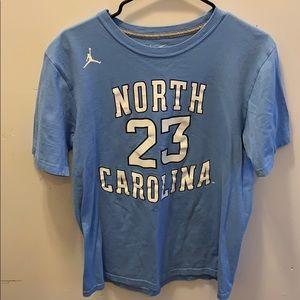 Michael Jordan North Carolina #23 Nike tee